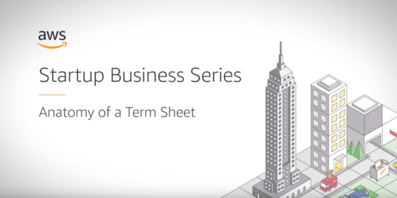 AWS Panel explains whats in a funding term sheet