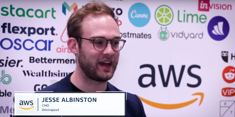 AWS software service provider Bitstrapped's CMO talks about trust