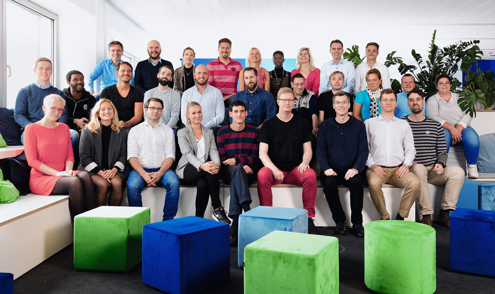 fintech insurance startup joonko's team in Berlin