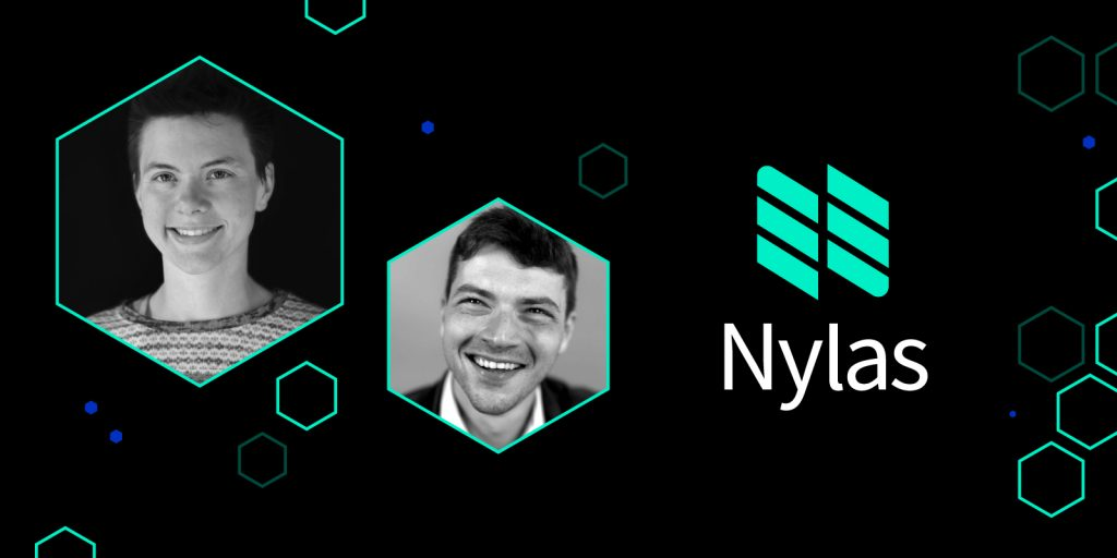 headshot of Nylas CTO and cofounders