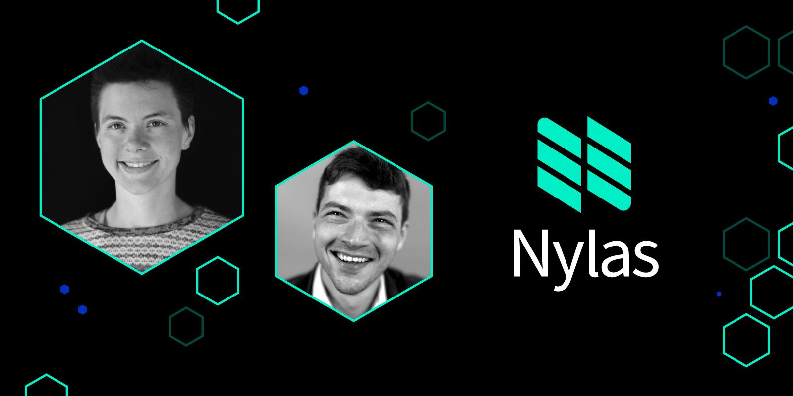 headshot of Nylas CTO and cofounders