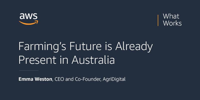 Farmings future present in australia