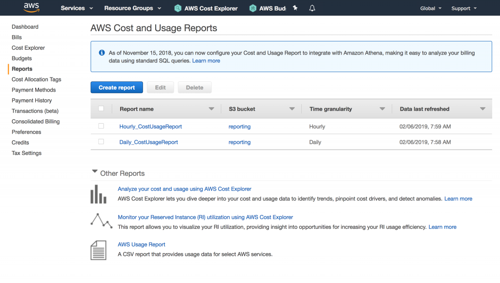 The AWS Cost & Usage Report: The Next Step on Your Cost Management Journey