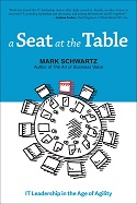 "Cover image of ""A Seat at the Table"" by Mark Schwartz"