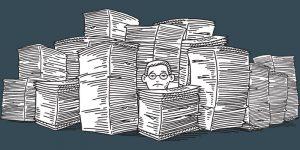 Cover art from Mark Schwartz's new book, The (Delicate) Art of Bureaucracy
