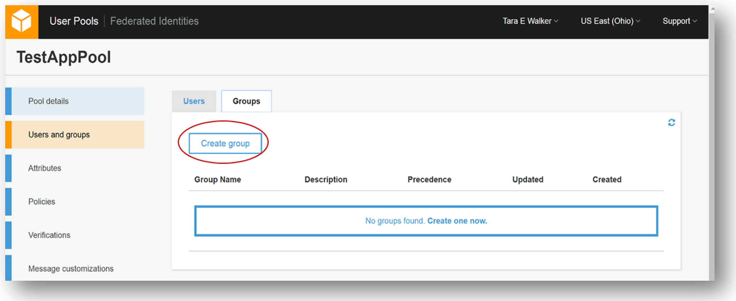 New – Amazon Cognito Groups and Fine-Grained Role-Based