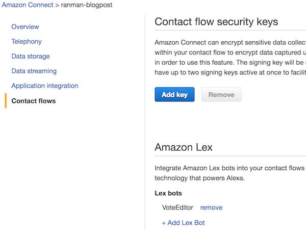 New – Amazon Connect and Amazon Lex Integration | AWS News Blog