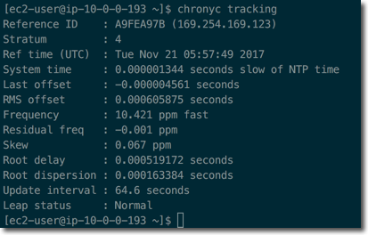 Keeping Time With Amazon Time Sync Service | AWS News Blog