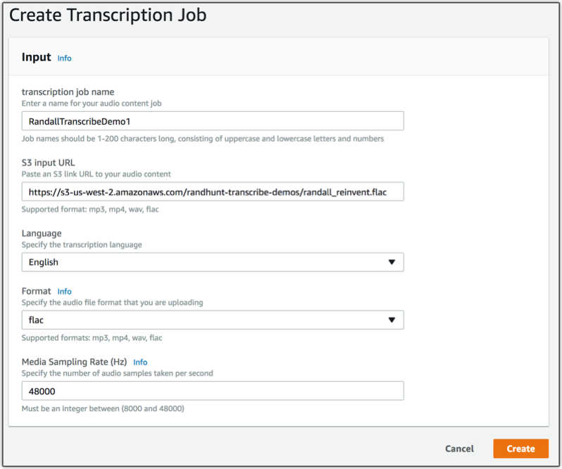 Amazon Transcribe – Accurate Speech To Text At Scale | AWS