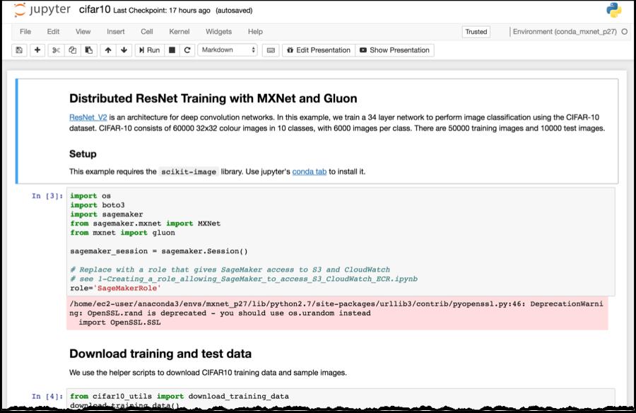 Amazon SageMaker – Accelerating Machine Learning | AWS News Blog