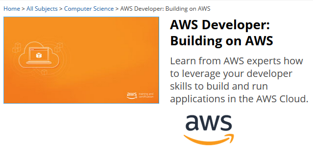 New AWS Developer Training in Collaboration with edX.org | AWS News Blog