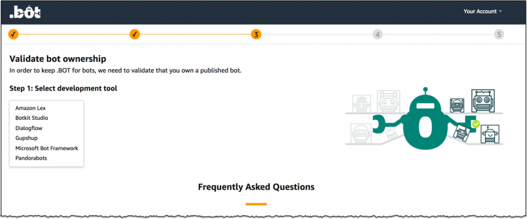 New  BOT gTLD from Amazon | AWS News Blog