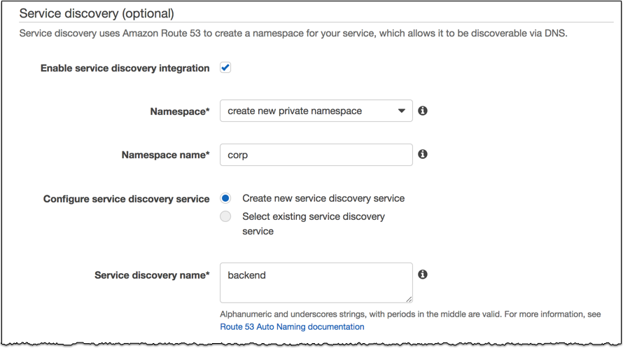 Baking Clouds - Amazon ECS Service Discovery