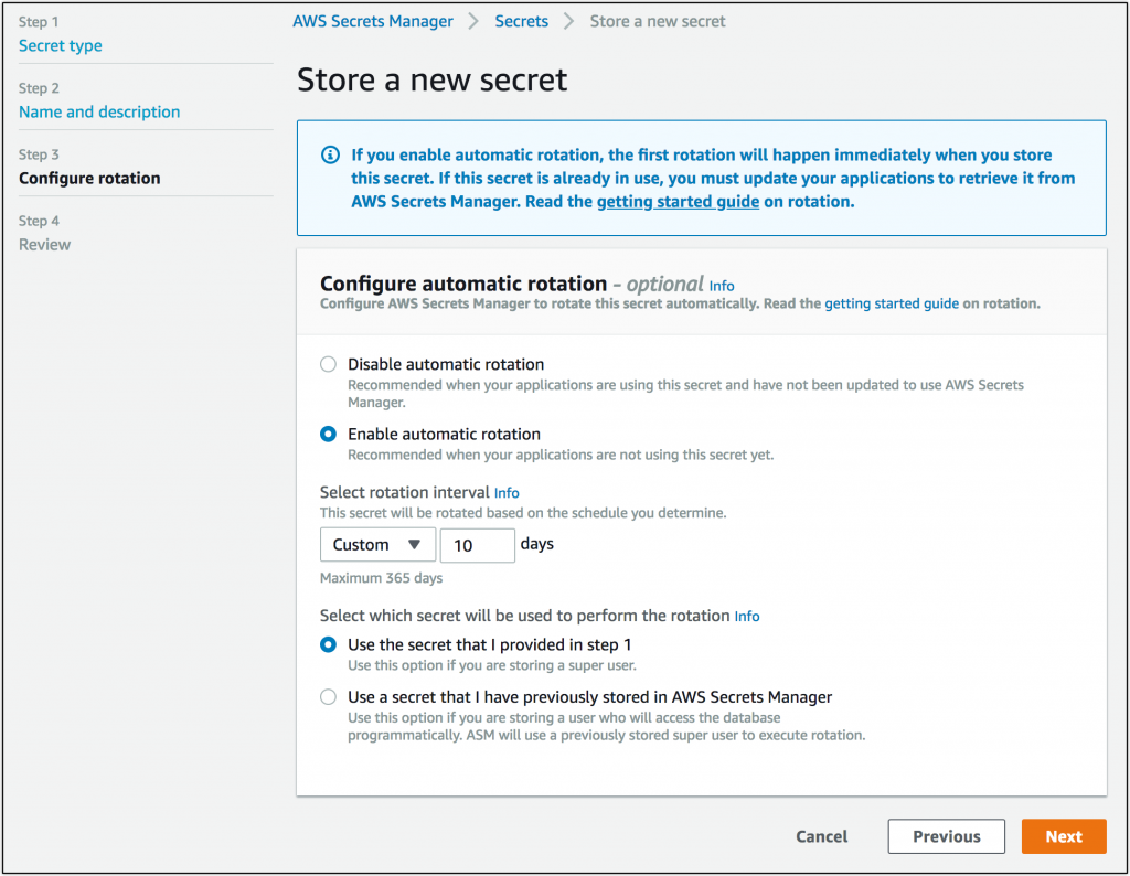 AWS Secrets Manager: Store, Distribute, and Rotate
