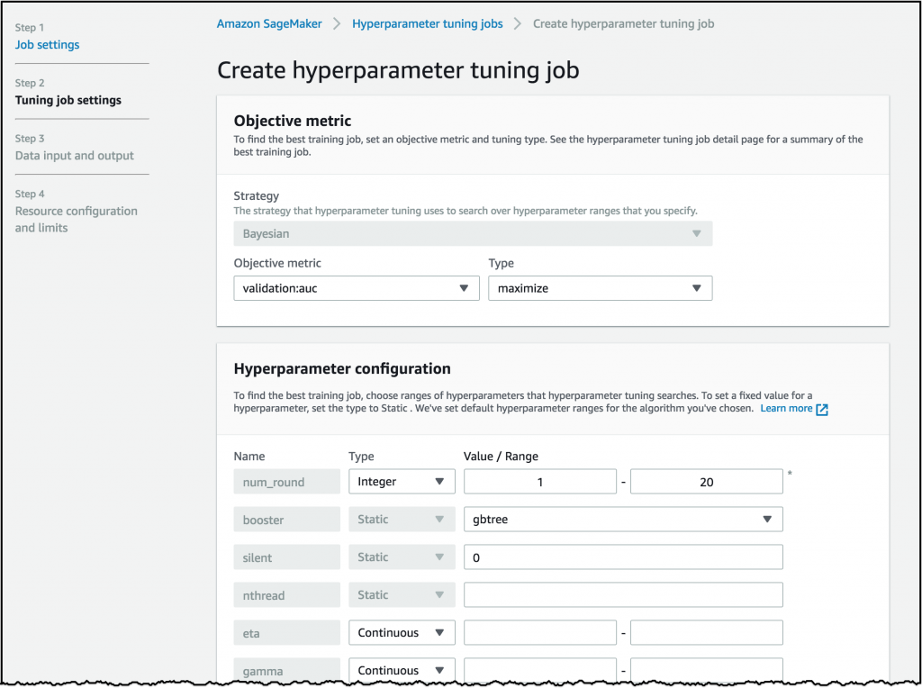 Amazon SageMaker Automatic Model Tuning: Using Machine Learning for
