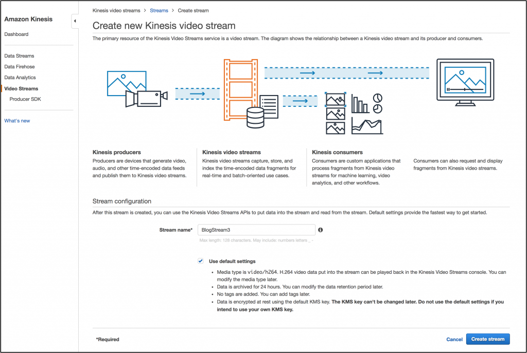 Amazon Kinesis Video Streams Adds Support For HLS Output Streams