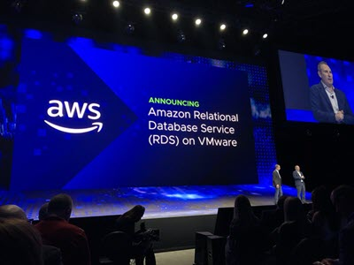 In the Works – Amazon RDS on VMware | Amazon Web Services