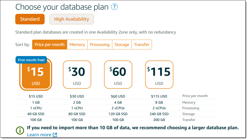 New – Managed Databases for Amazon Lightsail | Amazon Web Services