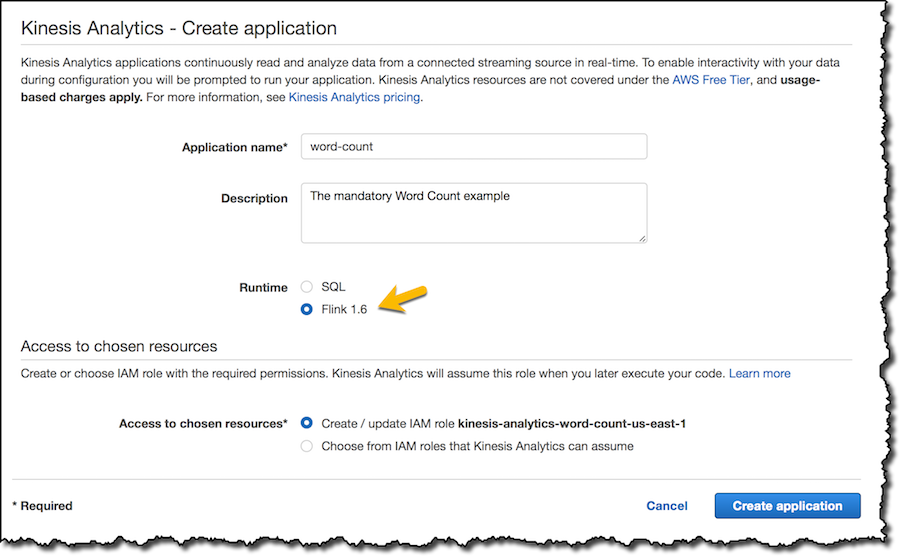 New – Amazon Kinesis Data Analytics for Java