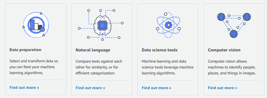 NEW – Machine Learning algorithms and model packages now