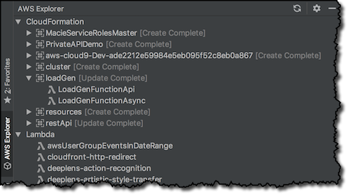 New – AWS Toolkits for PyCharm, IntelliJ (Preview), and Visual