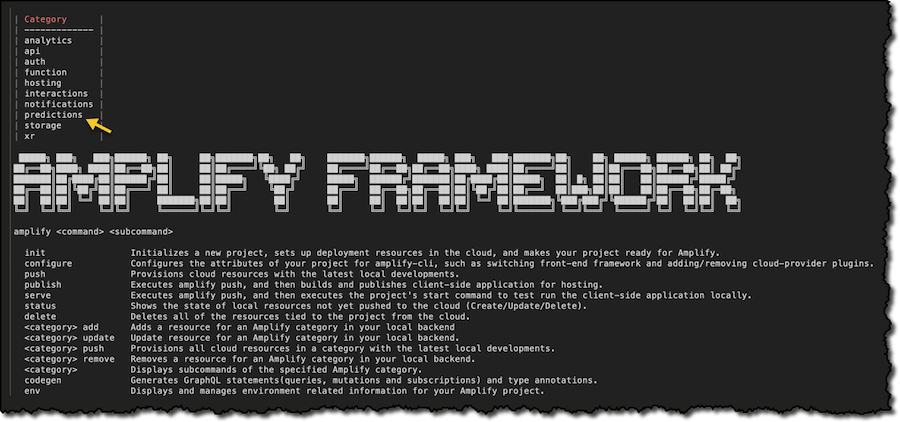 Amplify Framework Update – Quickly Add Machine Learning Capabilities to Your Web and Mobile Apps