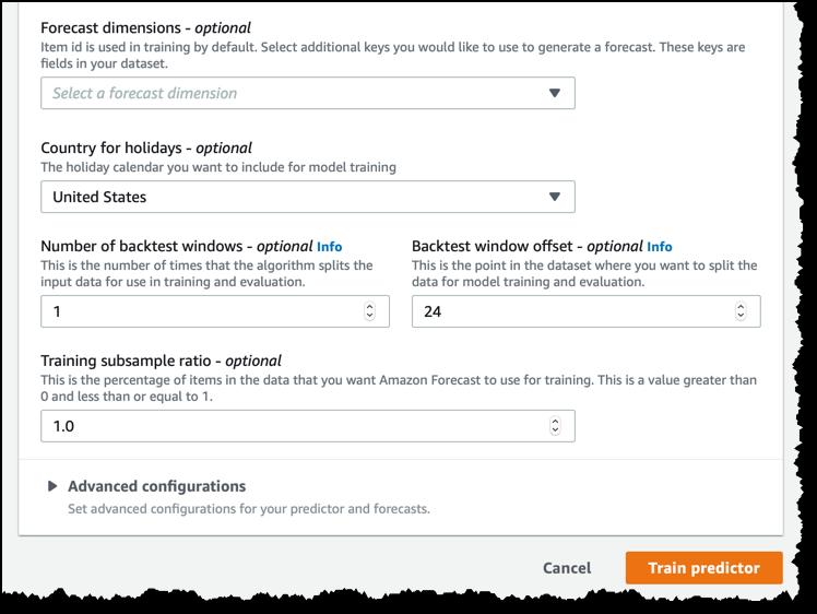 Amazon Forecast – Now Generally Available - JTEK Data