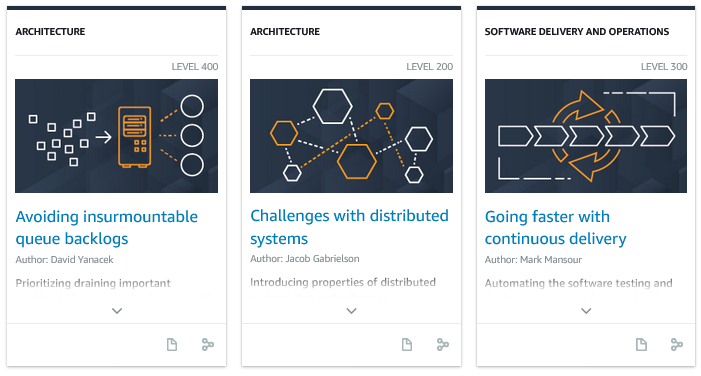 Check out The Amazon Builders' Library – This is How We Do It! | Amazon Web Services