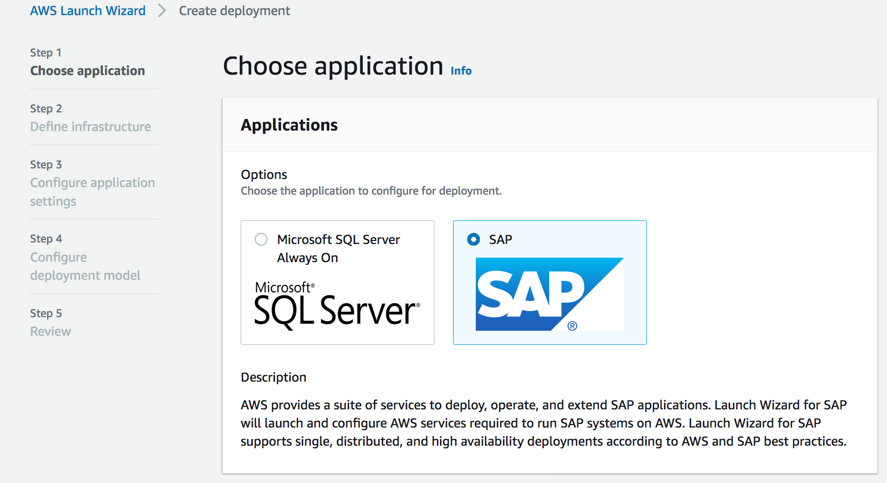 2020 aws launch wizard for sap 0