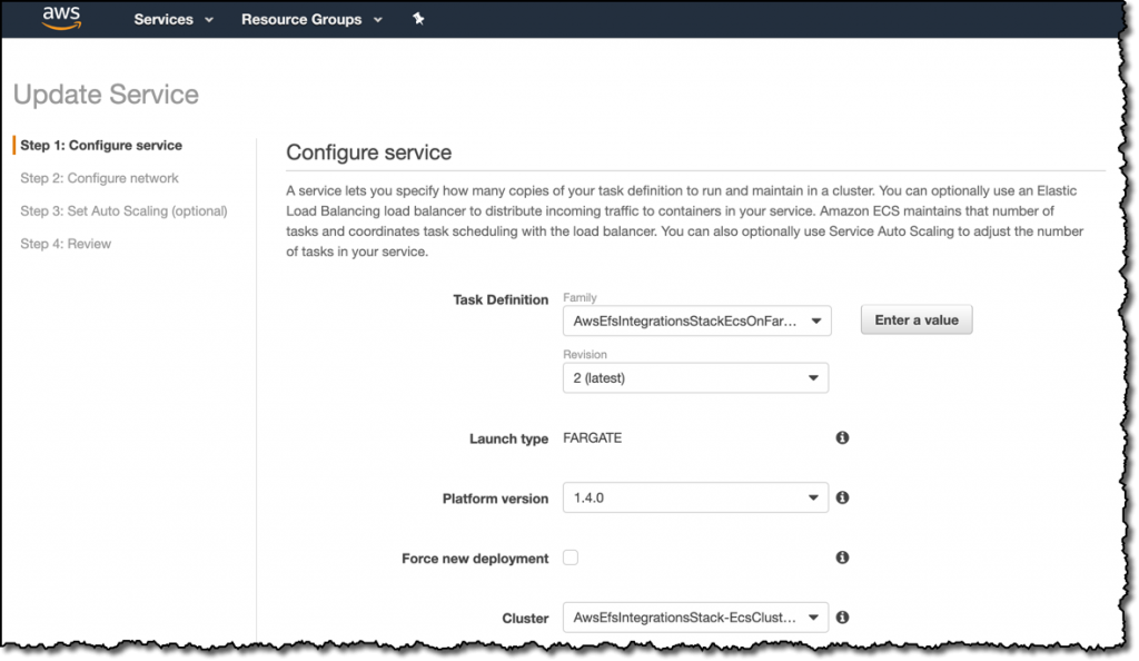 Amazon Elastic Container Service now supports Amazon EFS file systems | Amazon Web Services 7