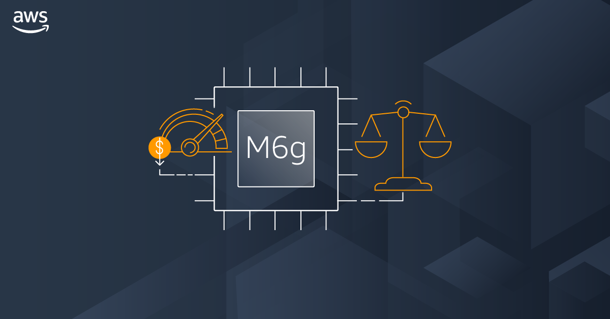 Image of article 'New    –    EC2 M6g Instances, powered by AWS Graviton2'
