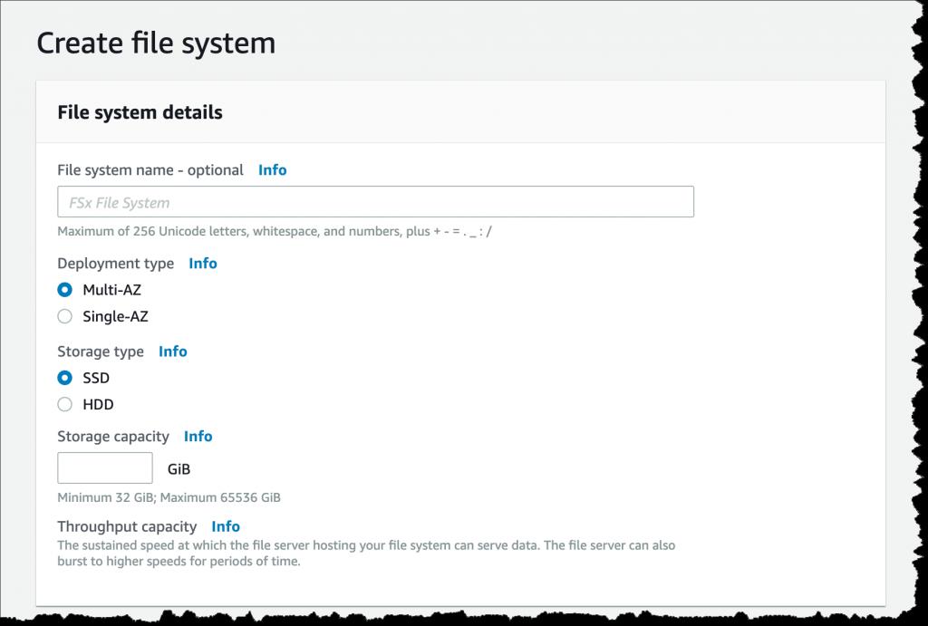 createfilesystem