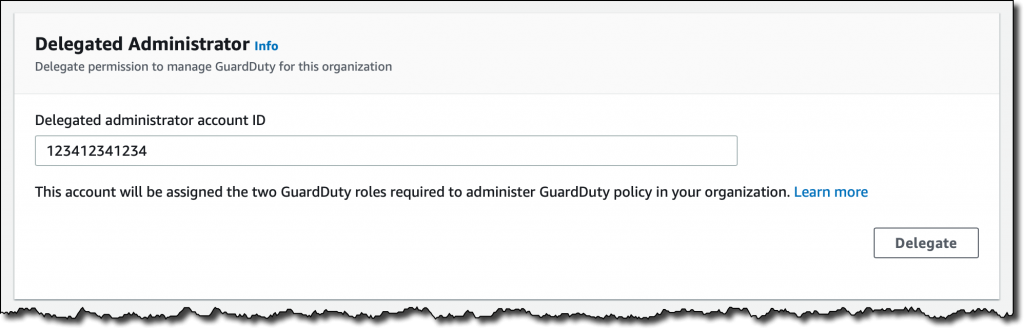 guardduty s3 protection delegated administrator