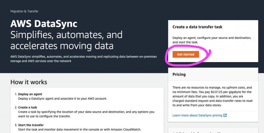 AWS DataSync