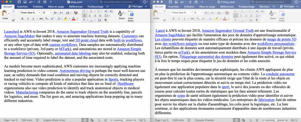 Comparing files