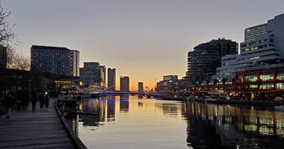 Melbourne, Australia water image
