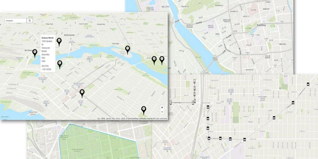 Maps for Amazon Location Services