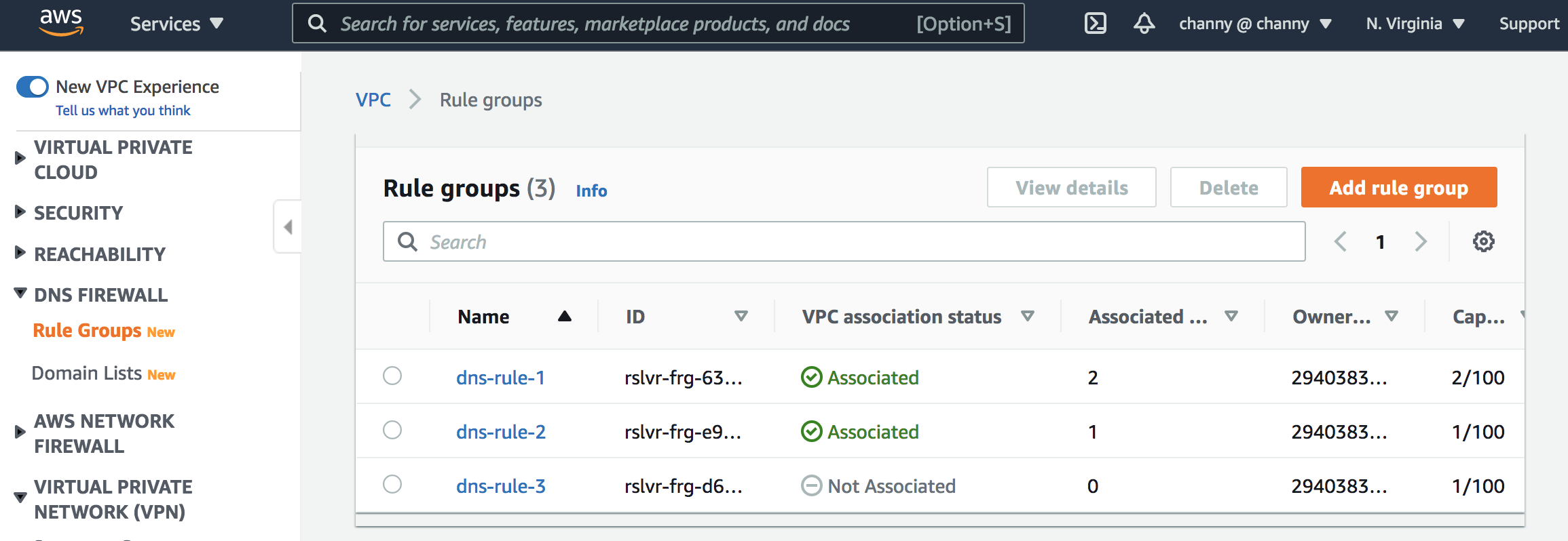 How to Get Started with Amazon Route 53 Resolver DNS Firewall for Amazon VPC