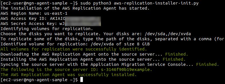 2021 aws mgn source servers