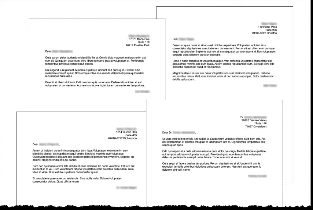 Screenshot of some PDF files.