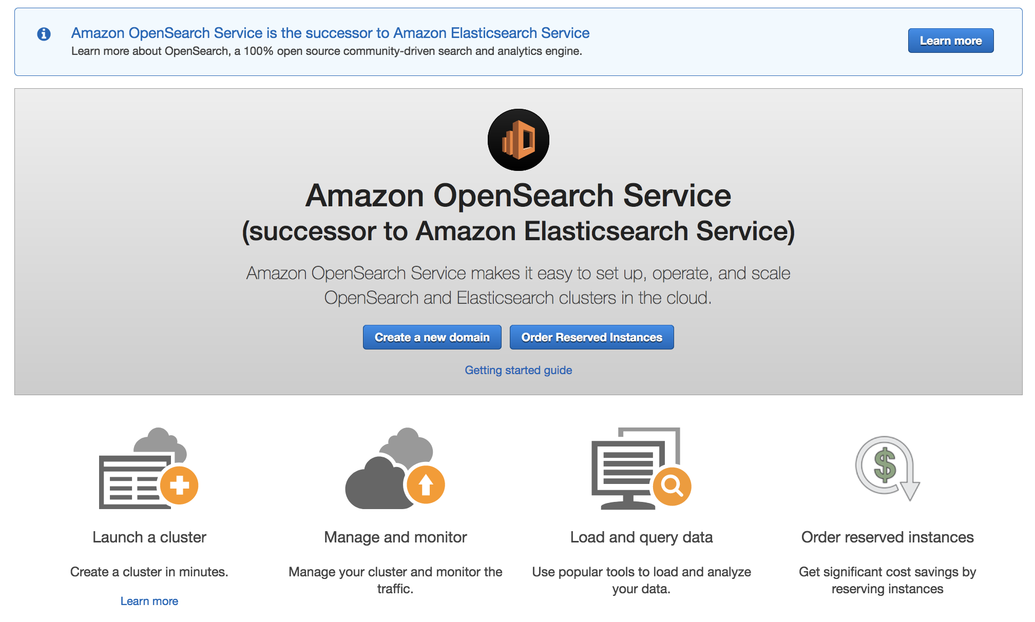 Amazon Elasticsearch Service Is Now Amazon OpenSearch Service and Supports OpenSearch 1.0