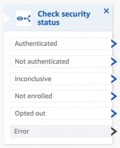 Amazon Connect Voice ID Configuration panel