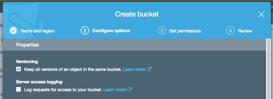 Create a bucket with S3 Object Lock turned on.