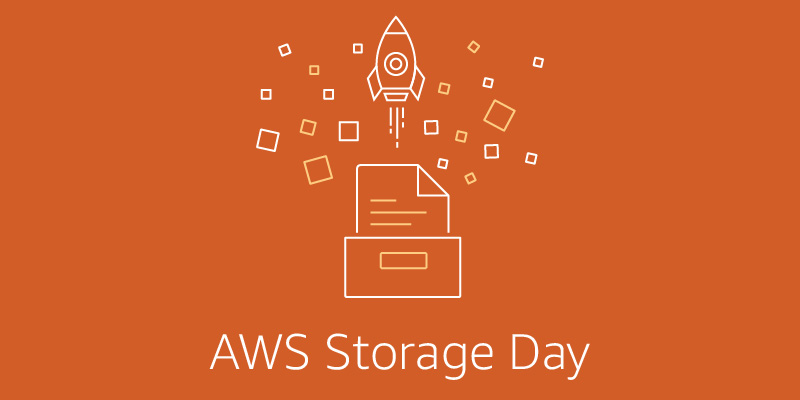 Join us for AWS Storage Day 2021 – the 3rd annual AWS Storage Day