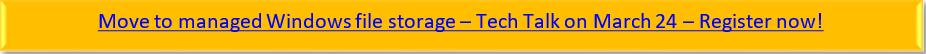 登録用リンクが設定された 3 月 24 日のテックトークボタン