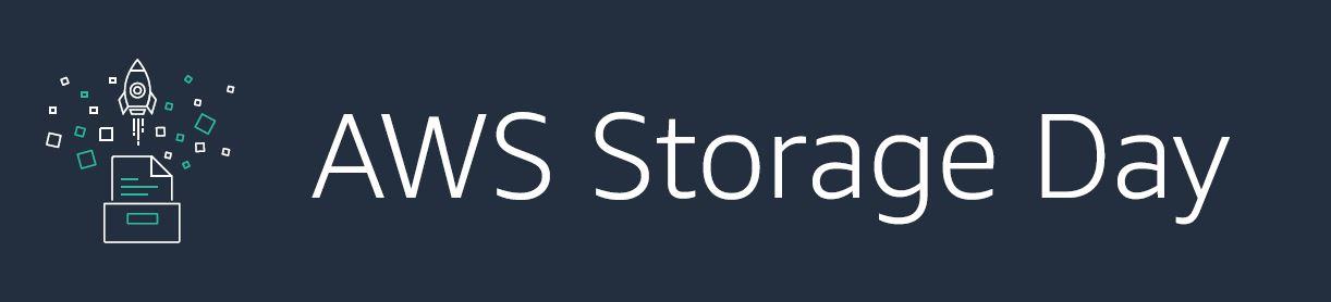 AWS Storage Day banner green squid