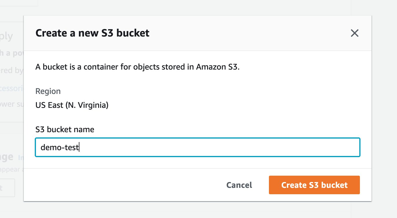 You now have the flexibility to create an Amazon S3 bucket directly from the AWS Snow Family console