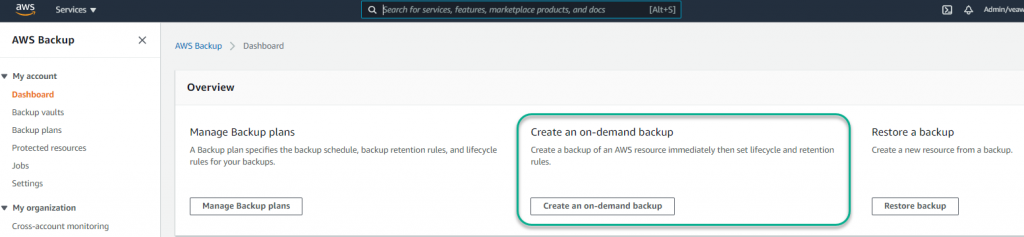 run a test job or just wait for the next scheduled job to run to validate your AWS Backup notifications solution