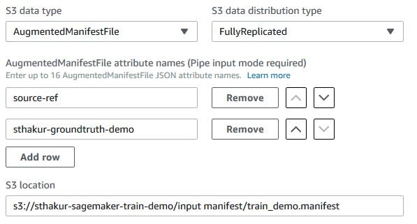 Easily train models using datasets labeled by Amazon