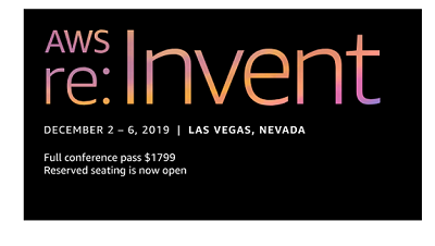 Your guide to artificial Intelligence and machine learning at re:Invent 2019 1